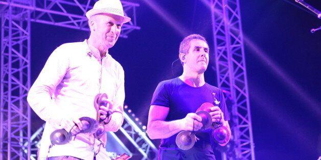 Mehdi Askeur (à gauche) et Kamel Tenfiche (à
