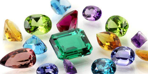 Real Gems Including Sapphire, Amethyst, Emerald, Ruby, Tanzanite, Citrine, Tourmaline, Peridot, Aquamarine,...