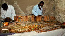 Egypte: six momies découvertes dans une tombe de l'époque