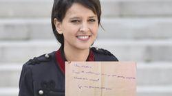 Najat Vallaud-Belkacem a reçu une requête de la part d'un écolier (que nous comprenons