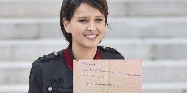 Pour Pâques, Najat Vallaud-Belkacem a reçu une requête de la part d'un écolier (que nous comprenons