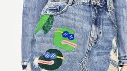 Zara accusé d'avoir utilisé une grenouille ressemblant au symbole controversé