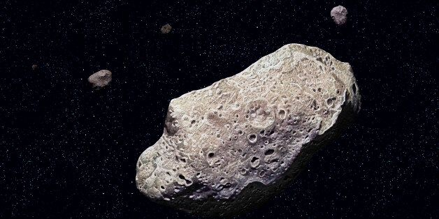 Ida, Ida, discovered by the Galileo probe in 1993, is 52 km long and has a tiny moon, Dactyl. (Photo...