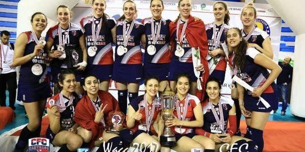 Le Club féminin de Carthage remporte la Coupe d'Afrique des clubs champions en Volley-ball (PHOTOS,