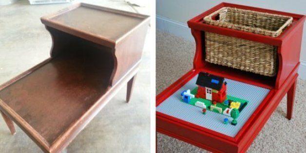 10 excellentes idées pour recycler de vieux objets en jouets pour
