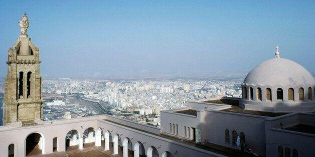 ALGERIA - MARCH 5: View from the Chapel of Santa Cruz on Mount Murdjajo, Oran, Algeria. (Photo by DeAgostini/Getty