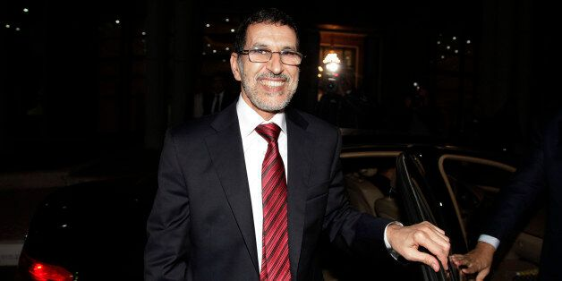 Morocco's new foreign minister Saad-Eddine El-Othmani of the Islamist Justice and Development Party (PJD)...