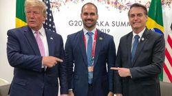 Na ONU, Eduardo tentará emplacar Trump em evento conservador no