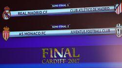 Ligue des Champions: un derby Real-Atletico et la Juve face à