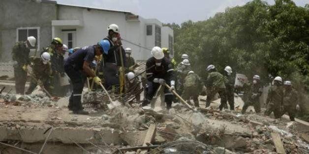 Colombie: Au moins 20 morts dans l'effondrement d'un immeuble en
