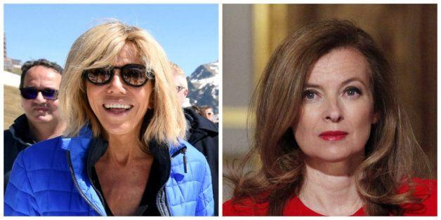 Quand Brigitte Macron et Valérie Trierweiler se sont retrouvées dans le même avion pour