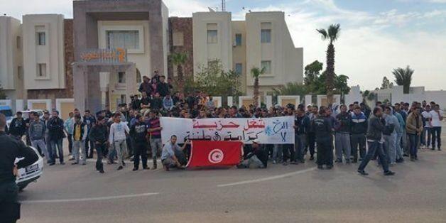 Tataouine: Les protestataires lancent un ultimatum au