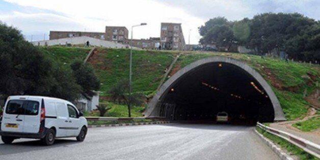 Alger: Fermeture partielle du tunnel d'Oued Ouchaih à partir de lundi pour des travaux d'entretien