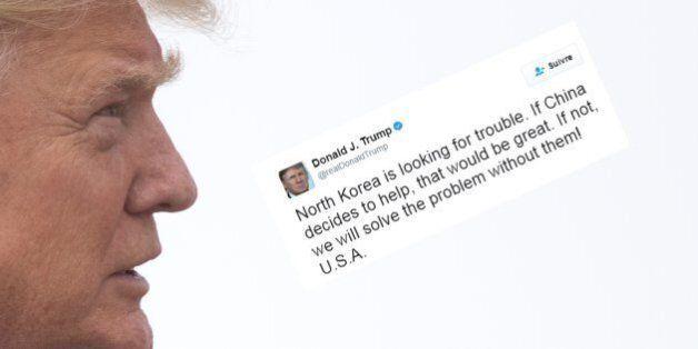 La raison du regain de tensions avec les États-Unis? Les tweets de Trump, selon la Corée du