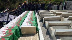 Inhumation des ossements de 57 chahids à Béjaïa