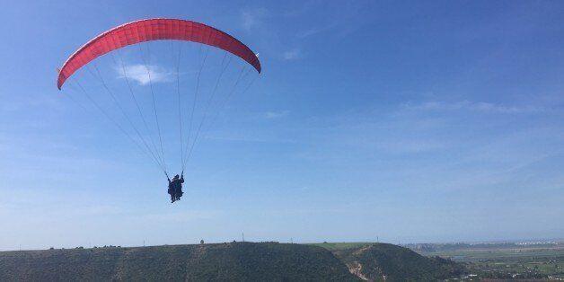Un saut en parapente pour voir Rabat et Salé