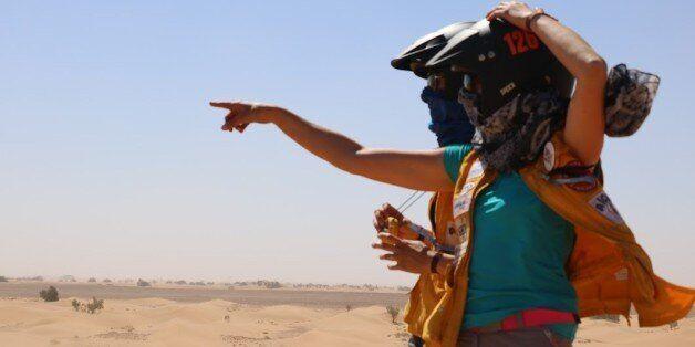 Les Gazelles ont passé 9 jours dans le désert