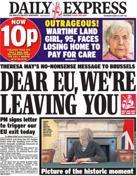 Jour J pour le Brexit: les Unes les plus marquantes de la presse