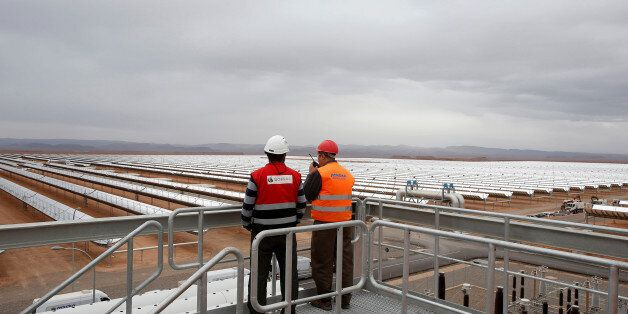 A thermosolar power plant is pictured at Noor II Ouarzazate, Morocco, November 4, 2016. Picture taken...