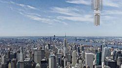 Analemma, un concept de gratte-ciel géant accroché à un...