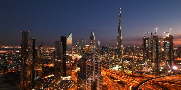 DUBAI, UNITED ARAB EMIRATES - FEBRUARY 06: A general view of Burj Khalifa on February 6, 2017 in Dubai,...