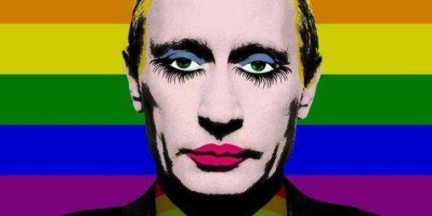 La Russie interdit cette photo de Vladimir Poutine (et depuis, tout le monde la