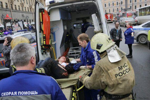 Saint-Pétersbourg: Les images après l'explosion dans le