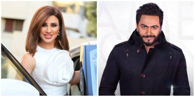 Najwa Karam et Tamer Hosny à