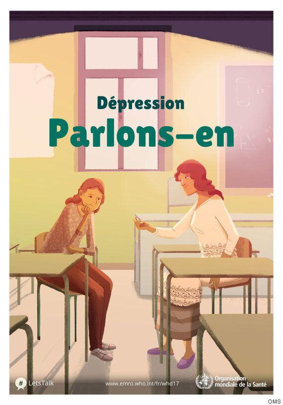 La dépression, une maladie comme les