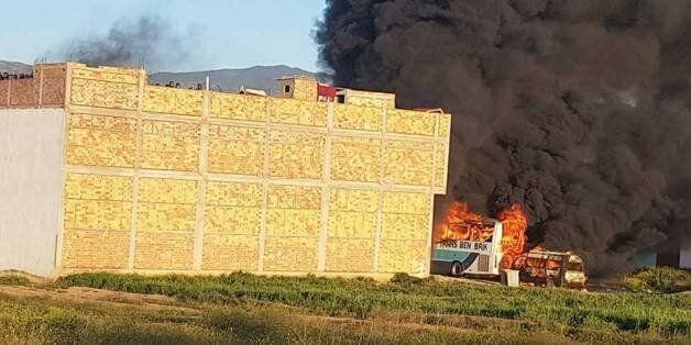 Al Hoceima: Des bâtiments de la police incendiés par des