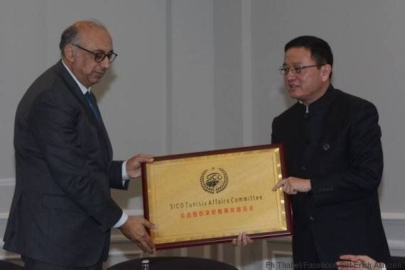Tahar Bayahi, nouveau président exécutif de la Silk Road International, Cultural and Commercial Organisation...
