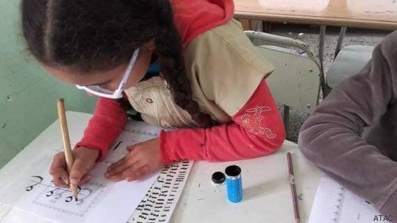 La calligraphie, cet art menacé d'oubli renaît à la médina de Tunis avec Abdessalem