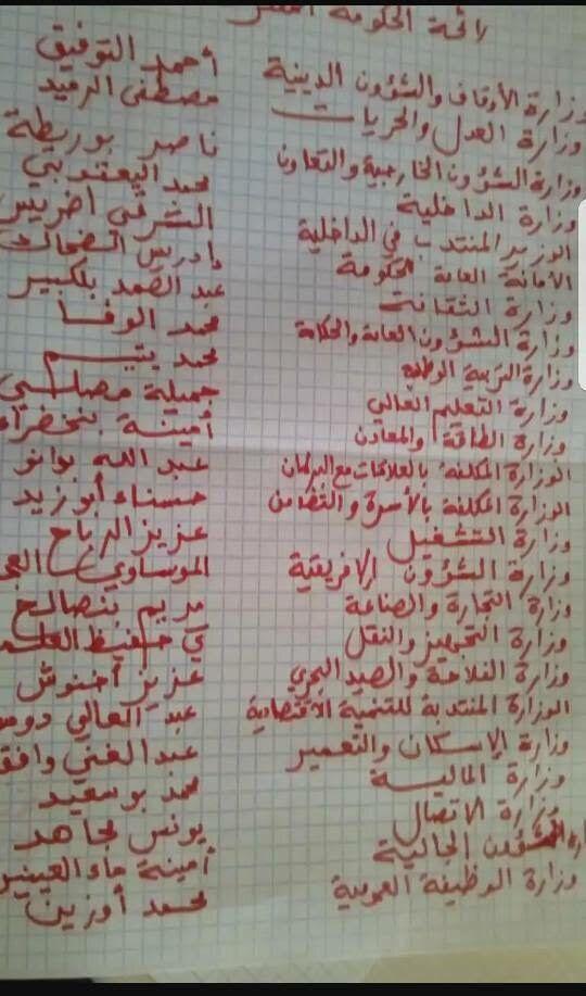 Gouvernement El Othmani: Les femmes plus nombreuses que sous