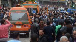 Les images après les attentats contre les églises coptes en