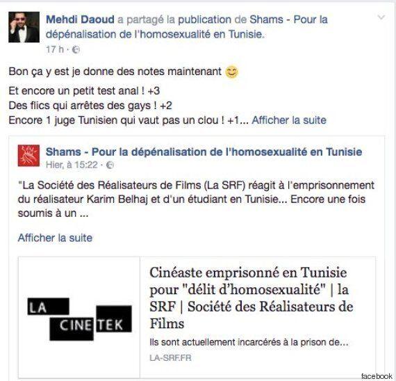 Un cinéaste tunisien arrêté pour homosexualité. Un tollé dans le milieu