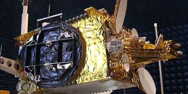 Le satellite Alcomsat 1 permettant d'avoir Internet