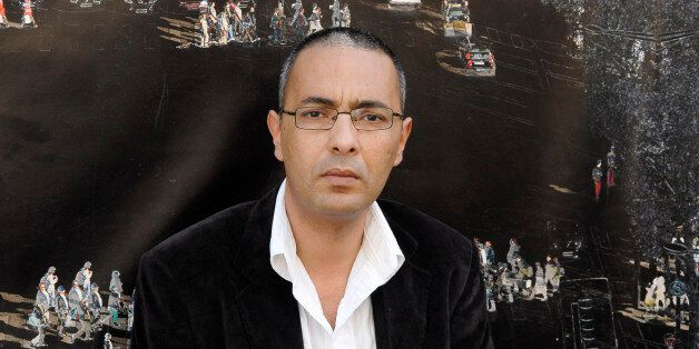 PARIS, FRANCE - MAY 9: Algerian writer Kamel Daoud poses during a portrait session held on May 9, 2011...