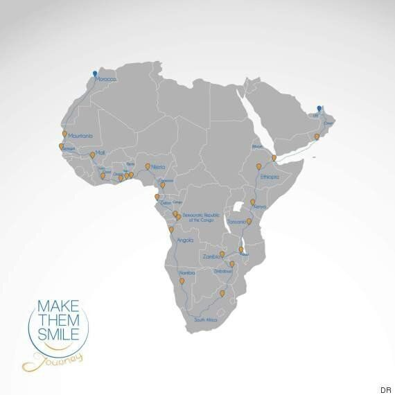 Un Marocain va faire le tour de l'Afrique à moto pour rejoindre