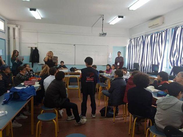 Ces élèves des établissements français de Tunisie se transforment en journalistes vedettes le temps d'une...
