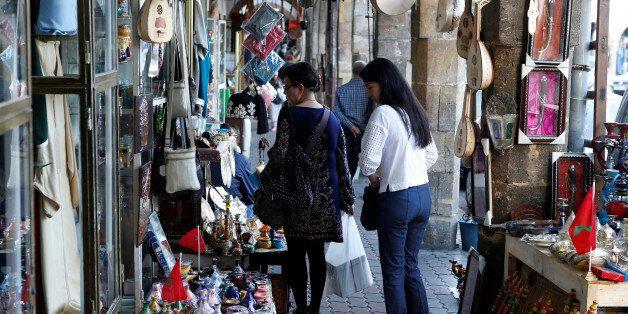 Des touristes chinois à Casablanca, octobre