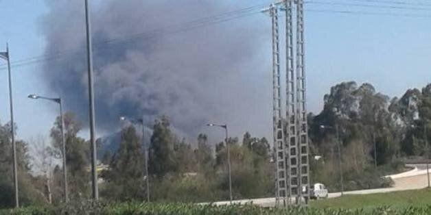 Incendie dans une usine de détergents à la zone industrielle des