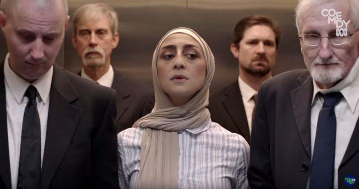 Aanisa Vylet stars in ABC series Halal Gurls.