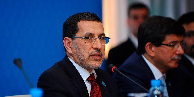 Morocco's Foreign Minister Saad-Eddine El Othmani attends