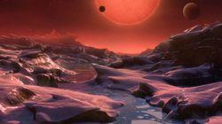 Les exoplanètes de Trappist 1 pourraient grouiller de vie, selon ces