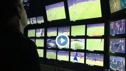 Le but qualificatif du Barça vu de la régie télé