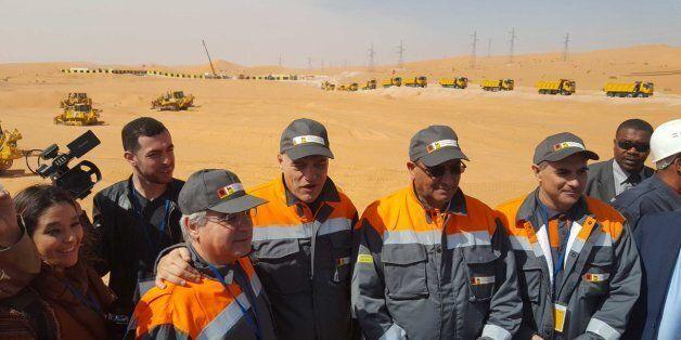Sonatrach et ENI mettent en route le projet de la centrale photovoltaïque à