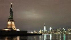 La Statue de la Liberté éteinte, ces internautes ont voulu y voir un signe pour la Journée mondiale de la