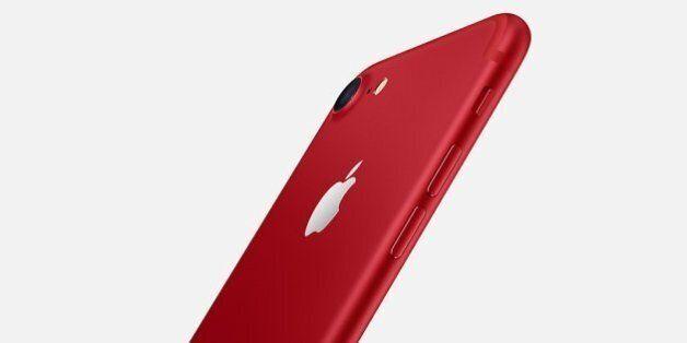 Apple lance un iPhone 7 rouge (pour la bonne