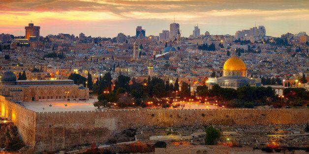 View to Jerusalem old city.