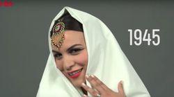 100 ans de beauté de la femme marocaine en une